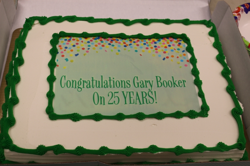 Fall 2018 – Gary D Booker Celebrates 25 Years of Service