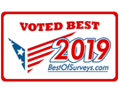 voted best of survey's 2019