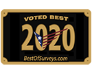 voted best of survey's 2020
