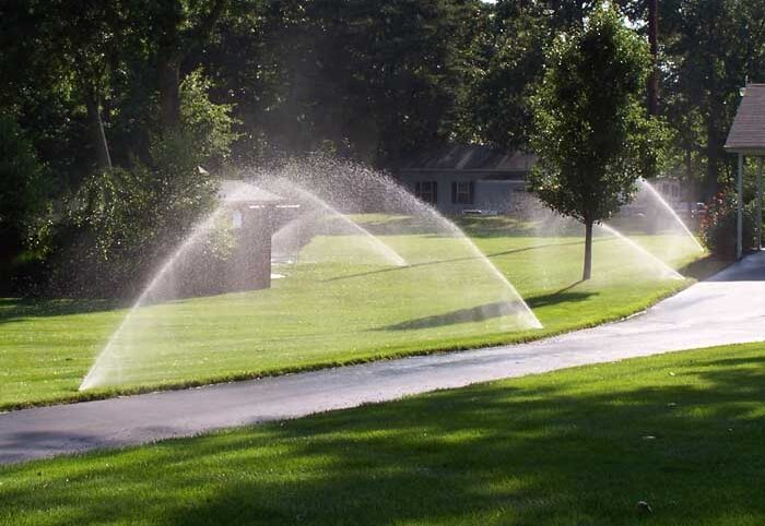 irrigation water system
